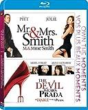 Mr. & Mrs. Smith / The Devil Wears Prada (Double Feature) [Blu-ray]