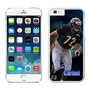 Chicago Bears Gabe Carimi Case For iPhone 6 White 4.7 inches