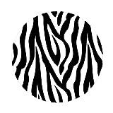 Black and White Zebra Print / Stripe Polka Dots Wall Decor Stickers