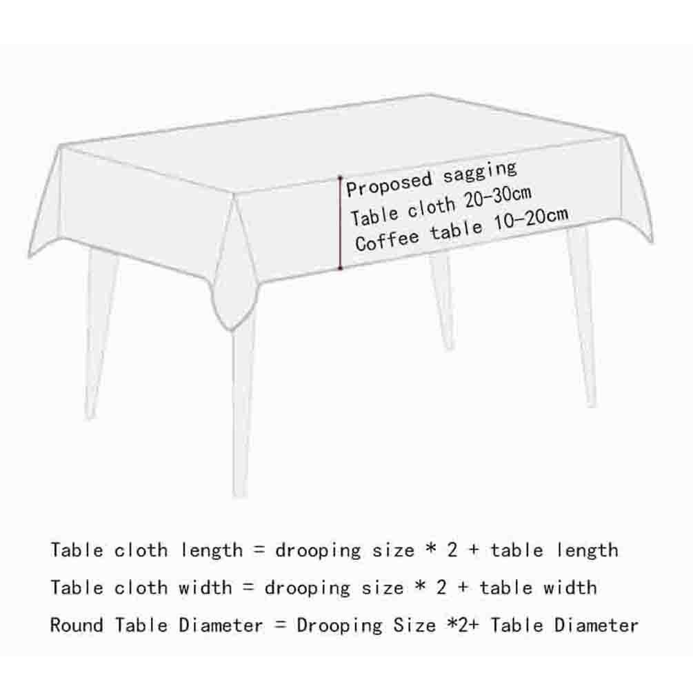 Tischdecke rechteckigen Stoff Wohnzimmer Hause Esstisch Tischdecke Tuch Tee Tischdecke Esstisch Runde große Tisch Matte , 005 , 120120cm 242933