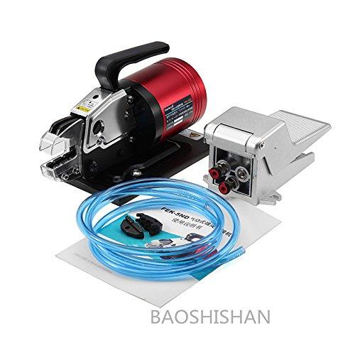 BAOSHISHAN FEK-5ND 空気圧式圧着工具 エアー圧着機 フットペダル付 出力13.5kN B07BVM9G39