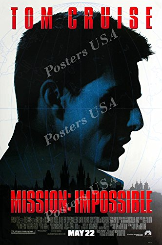 Posters USA Mission Impossible Tom Cruise Original Movie Poster GLOSSY FINISH - MOV221 (16