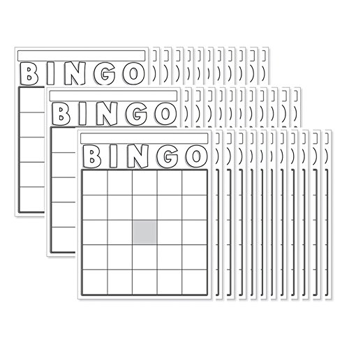 Hygloss Products Inc. - Blank Bingo Cards White