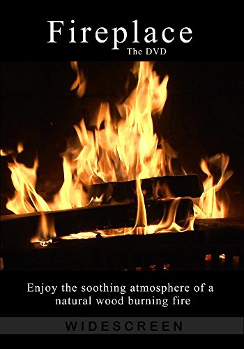 Fireplace The DVD - Real Crackling Wood Fireplace for Ambiance and Romance, turns your TV into art (Run Log 2015)