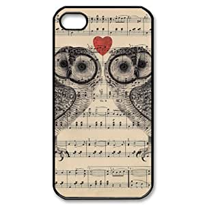 TYH - Owls on Sheet Music ipod Touch4 Case ending phone case
