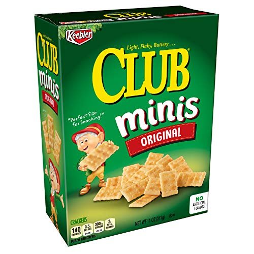 Keebler Club Crackers, Minis, Original, 11 oz Box