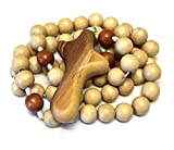 Wooden Rosary in Light Neutral