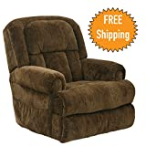 Catnapper Power Lift Full Lay-Out Recliner with Comfort Coil Seating & Dual Motor Comfort Function - Extra Wide Seating - Roll Arm and Horse Collar Back Treatment - Fashionable and Durable 400lb Capacity