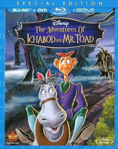 The Adventures Of Ichabod And  Mr. Toad [Blu-ray] -
