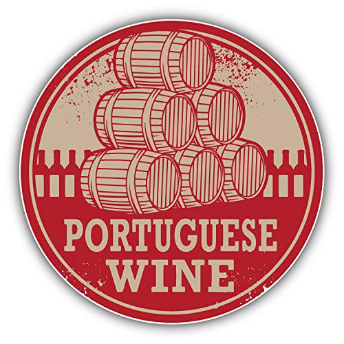 JJH Inc Magnet Portuguese Wine Grunge Stamp Portugal Flexible Vinyl Magnet Waterproof Car Magnetic Bumper Sticker 5