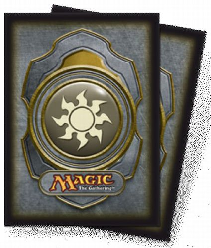 Ultra Pro The Magic the Gathering (MTG) Mana Deck Protectors - WHITE (80 Sleeves)