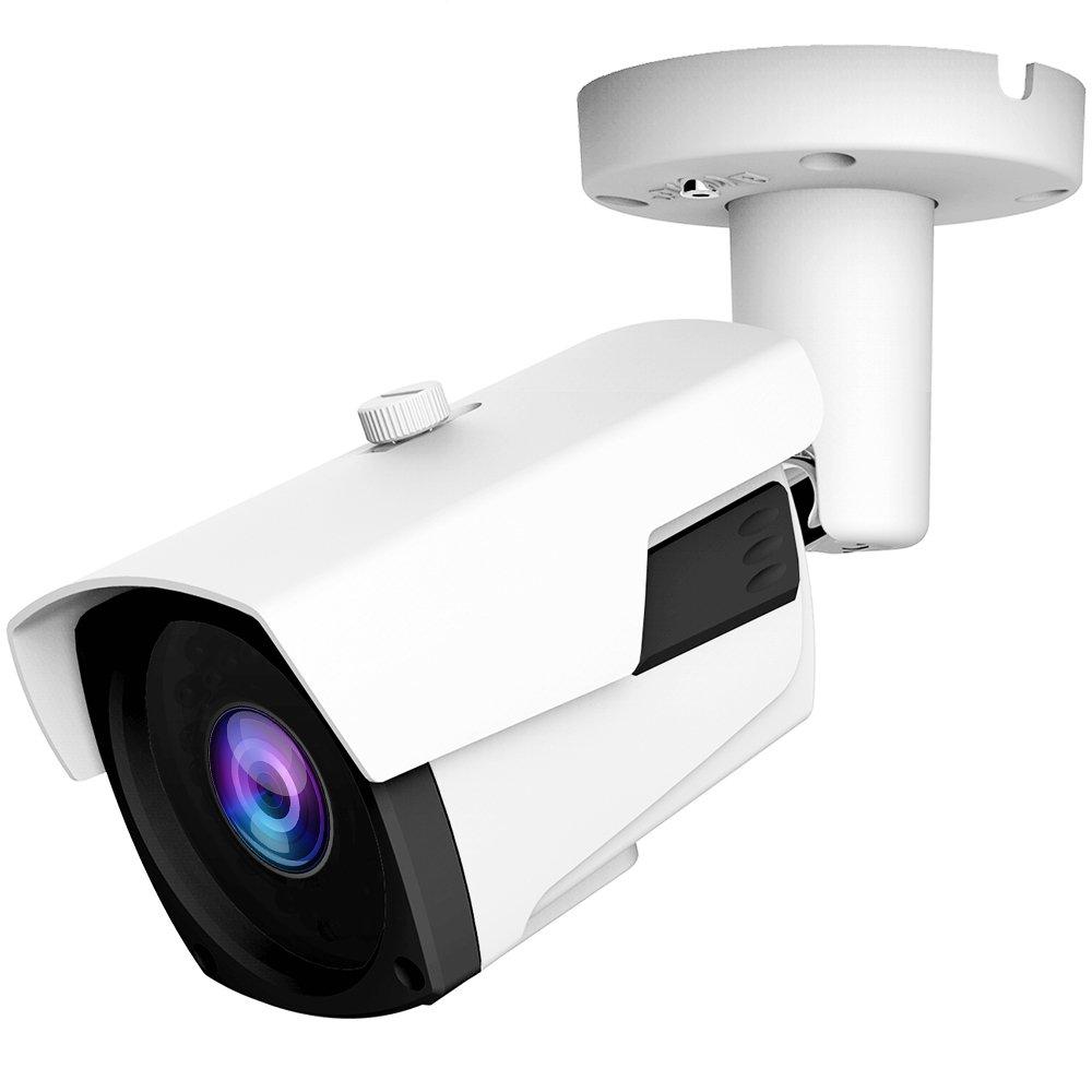 1080P (TVI/AHD/CVI/1200tvl) 5X Optical Zoom Autofocus Sony Exmor Sensor HD Security Camera, 2MP 2.7-13.5mm Motorized Zoom Auto Focus Varifocal IR Outdoor Waterproof Bullet Analog CCTV Camera by honic