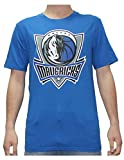 NBA Mens DALLAS MAVERICKS: Athletic Short Sleeve T Shirt S Blue