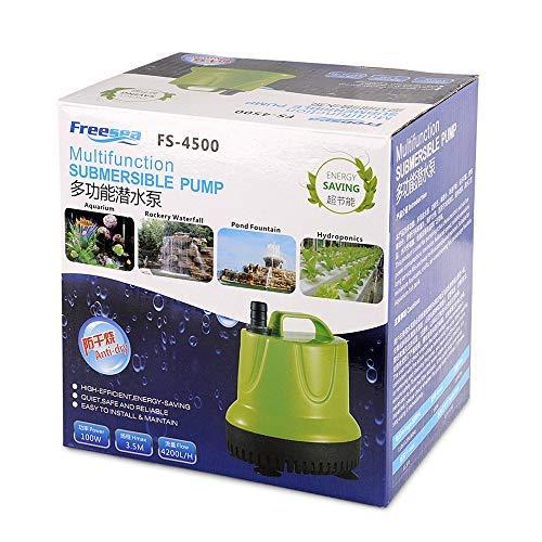 FREESEA 100W 1100GPH Submersible Sump Pump for Pond, Aquarium, Waterfall, Hydroponics, Drain Water by FREESEA (Image #5)