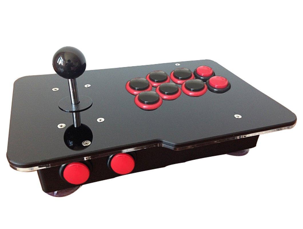 USB Arcade Fighting Stick for PC PS3 Raspberry Pi RetroPiev