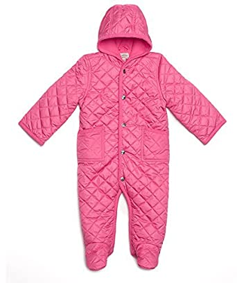9361f716a Amazon.com  Leveret Quilted Baby Snowsuit (3 Months