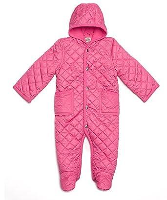 0269c994422e Amazon.com  Leveret Quilted Baby Snowsuit (3 Months