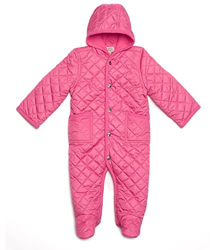 edd96ecb1 Amazon.com  Leveret Quilted Baby Snowsuit (3 Months