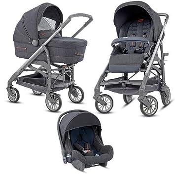 Inglesina - Cochecito de bebé triple modelo Trilogy Village Denim: Amazon.es: Bebé