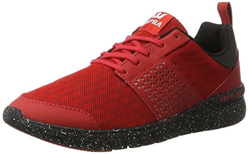 Maenner Noir Baskets 615 black Supra Red Rouge Speckle Homme US Scissor XqBpgpTw