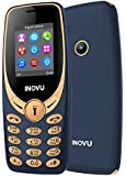 Inovu A1s Dual Sim Basic Mobile Phone (Blue-Gold, Upto 32GB)