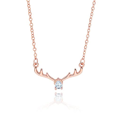 da68fb6856d1 WikiMiu Collar para Mujer Plata 925