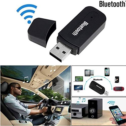 Wireless Bluetooth 3.5mm AUX Audio Stereo Music Car Receiver Adapter A2DP