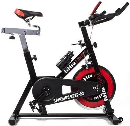 SG - Bicicleta spinning regulable 22 kg: Amazon.es: Deportes y ...