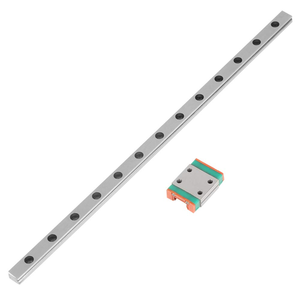 200mm//300mm//500mm Steel High Precision CNC High Accurate Linear Rail Sliding Guide Block 1pc Miniature Linear Sliding Rail Guide 200mm