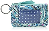Vera Bradley Iconic Zip ID Case, Signature Cotton, Daisy Dot Paisl