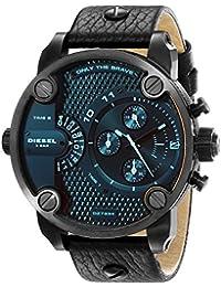 Men's DZ7334 Little Daddy Black Stainless Steel Watch