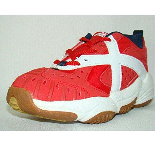 Munich Chaussures de handball XTR Extreme Rojo Rouge/blanc