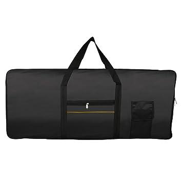 Amazon.com: Z ZTDM Electric Piano Keyboard Nylon Case Gig Bag Black (61-key): Musical Instruments
