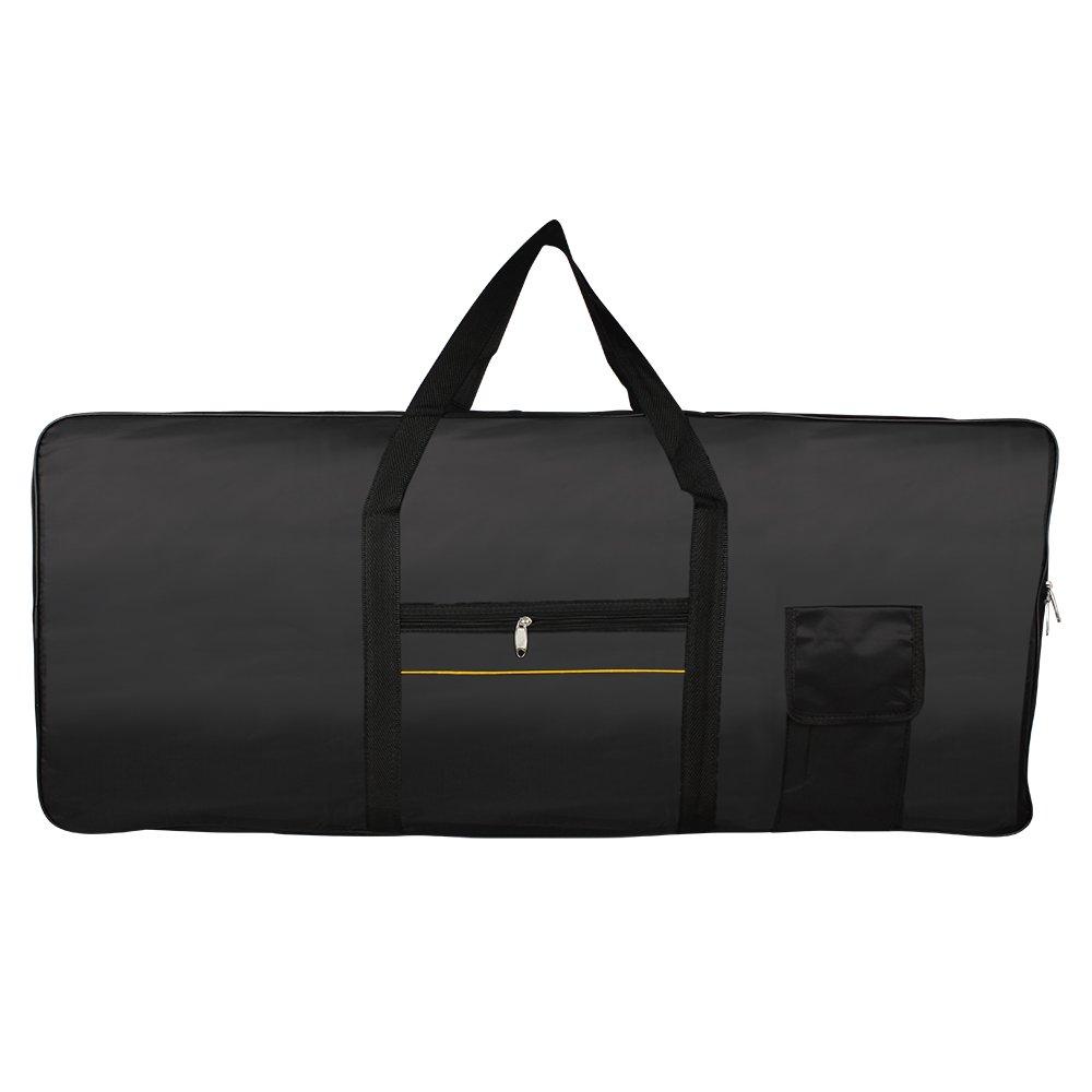 ammoon 61-Key Keyboard Electric Piano Padded Case Gig Bag