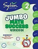 2nd Grade Jumbo Math Success Workbook: Activities, Exercises, and Tips to Help Catch Up, Keep Up, and Get Ahead (Sylvan Math Jumbo Workbooks)