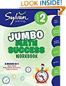 #3: 2nd Grade Jumbo Math Success Workbook: Activities, Exercises, and Tips to Help Catch Up, Keep Up, and Get Ahead (Sylvan Math Super Workbooks)
