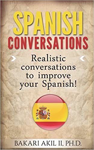 Spanish Conversations: Realistic Conversations to Improve your Spanish Cover Art