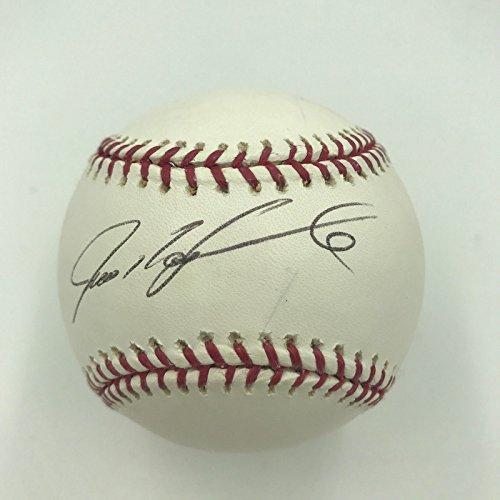 Ivan Rodriguez Signed Autographed Official Major League Baseball PSA DNA COA ()