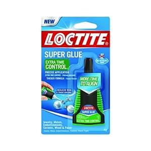 Super glue extra time control 14oz hogar for Super glue precio