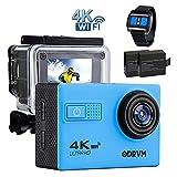 4K WIFI Action Camera Remote Waterproof 30m Underwater...
