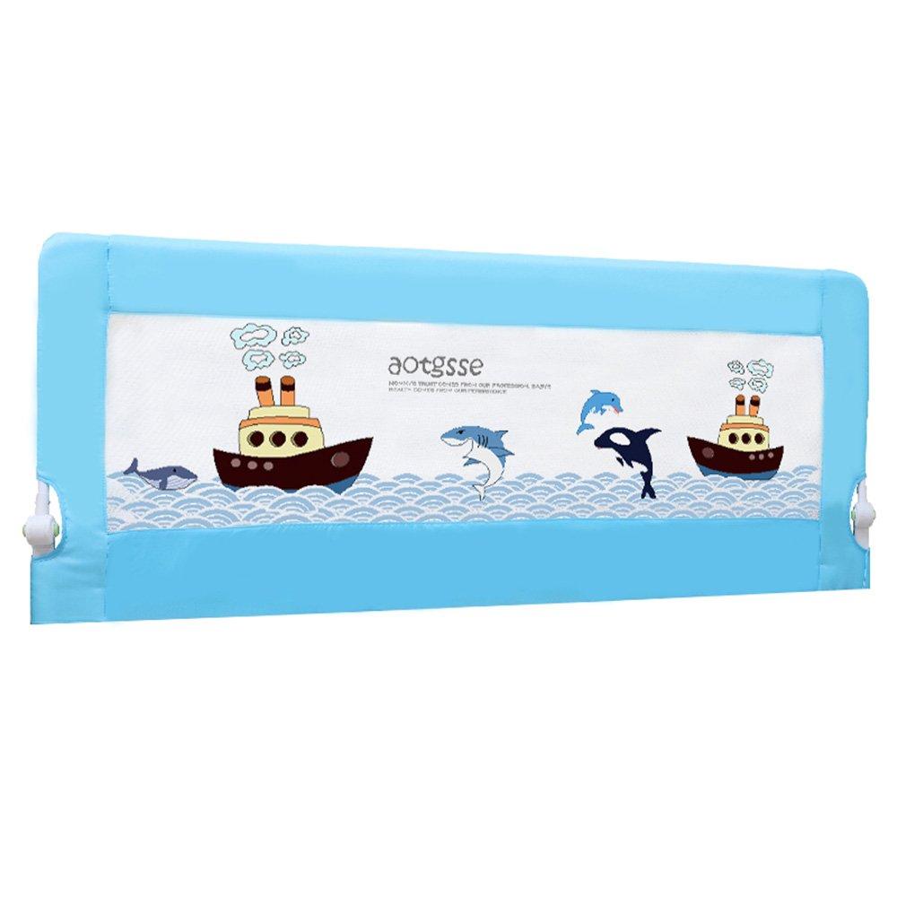 日本最級 XIAOLIN アンチ秋ベビーガードレールベッド、バッフル、ベビーベッドサイド :、フェンス サイズ、折り畳み可能1.5m \ 1.8m 1.8m \ 2m (色 : Blue, サイズ さいず : 200cm) 200cm Blue B07FKG3XWZ, リサイクルきもの福服:595dc682 --- a0267596.xsph.ru