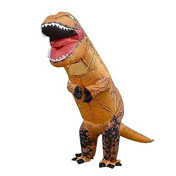 Disfraz inflable de dinosaurio Goodbenemall, disfraz de ...
