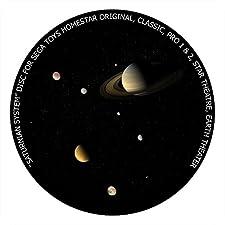 Saturnian System disc for Segatoys Homestar Pro 2, Classic, Original, Earth Theater Home Planetarium