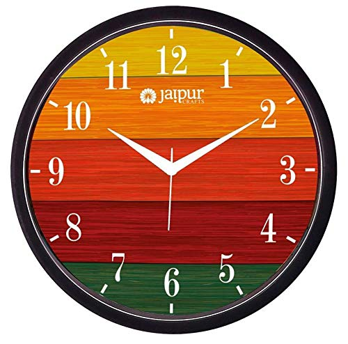 IT2M Designer Plastic Wall Clock for Home/Living Room/Bedroom/Kitchen- 11 in (with Ajanta Movement)