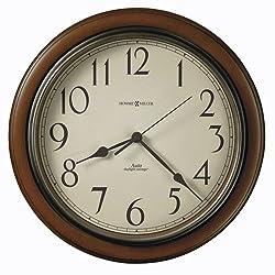 Talon Wall Clock, 15-1/4in, Cherry by Howard Miller