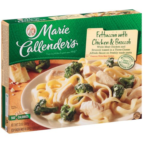 MARIE CALLENDERS DINNER FETTUCCINI WITH CHICKEN & BROCCOLI 13 OZ PACK OF 2