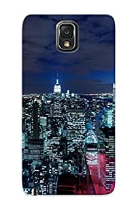 Fashion Tpu Case For Galaxy Note 3- Lower Manhaan Nyc Defender Case Cover For Lovers