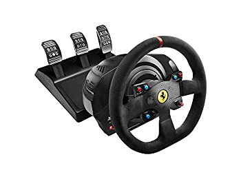 Thrustmaster VG T300 Ferrari Alcantara Edition Racing Wheel for PS4, PS3 and PC by ThrustMaster