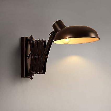Md Wall Lamp Estilo Industrial Ajustable Lámpara De Pared Tijera