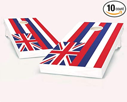 Sporting Goods Hawaii State Flag Cornhole Board Set